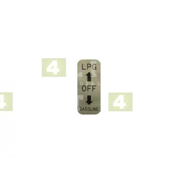 NAKLEJKA LPG - LPG-OFF-GASOLINE